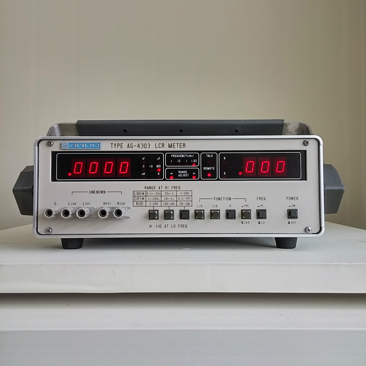 Using An Lcr Meter : Used ando ag lcr meter ebay